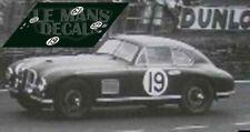 Decals Aston Martin DB2 Le Mans 1950 19 1:32 1:43 1:24 1:18 calcas