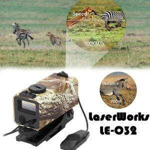 LaserWorks LE-032 700M rangefinder for rifle scope Mini Tactical Outdoor Hunting
