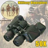 50X Fernglas Binokular inkl. Tasche Teleskop Militär Feldstecher Jagd HD  ! * *