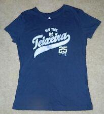 Juniors/Girls MAJESTIC NY Yankees Mark Teixeira, #25 100% Cotton S/S Shirt Sz. M