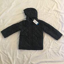 Penguin Boys Night Blue Quilted Jacket 5-6 Y XS Junior School Coat
