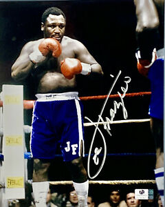 Smokin' Joe Frazier Boxing Signed 8x10 Photo Autographed Auto COA Muhammad Ali
