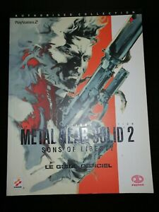 Guide officiel - PIGGYBACK - Metal Gear Solid 2 - Sons of Liberty - VF