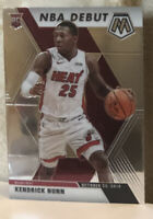 2019-20 Panini Mosaic NBA DEBUT #268 KENDRICK NUNN RC Miami Heat Rookie