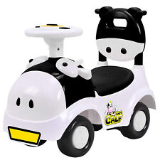 Baby Calf 3in1 Ride-on Scooter Cartoon Walker Pretend Play Cowboy Kids Toy Car