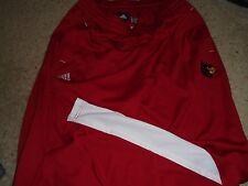 Louisville Cardinals Adidas Basketball Luke Hancock Team Issued Travel Pants