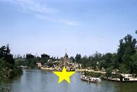 Disneyland 1956 Tom Sawyer Island Canoes PHOTO Kodachrome Slide Walt Disney 12