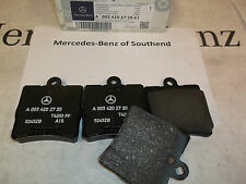 New Genuine Mercedes-Benz rear brake pads W203 C-Class A0034202720