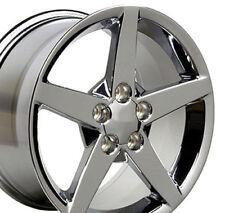 "18x9.5 Chrome Corvette C6 Style Wheel 18"" Rim Fits Camaro Firebird CP"