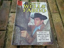DELL RARE TALES OF WELLS FARGO 1075 FEB APRIL 1960 VERY GOOD, TRES BON ETAT