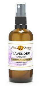 Lavender Essential Oil Room Spray Fragrance Sleep Spritz Mist Freshener