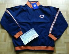 NWT Chicago Bears Chargers NFL Reebok Lines Full Zip Jacket Men Medium