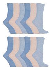 12 Pairs Ladies Genuine Thermal Winter Warm Heat Holders Socks Size 4 - 8 UK Red
