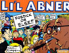 "Li'l Abner Vol 26-1997-Strip Reprints Soft Cover ""Dailies 1960  """