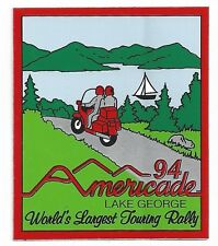 Americade World's Largest Touring Rally Decal 1994 Lake George NY