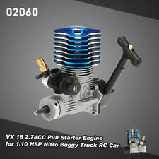 RC 02060 VX 18 2.74CC motor de arranque Pull Para 1/10 HSP Nitro Buggy Camión RC Coche