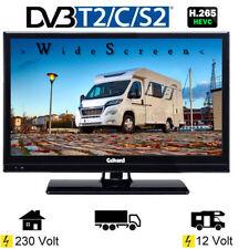 Gelhard GTV2021 LED TV 20 Zoll Wide Screen DVB/S/S2/T2/C, USB, 230 / 12 Volt
