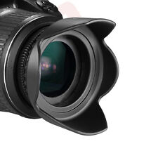 58MM Hard Tulip Shaped Lens Hood for Canon Rebel T6i T6 T5i T5 T4i T3 T2 SL1 XT
