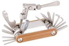 New 20 Functions Bamboo Arm Bike Folding Multi Tool w/ Chain Splitter Breaker