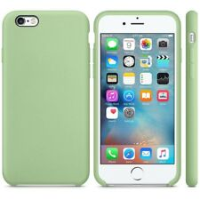"MINT GREEN ORIGINAL GENUINE Apple Silicone Case iPhone 6/6S PLUS 5.5"""