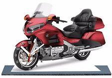 MOTO, BIKE, HONDA GOLDWING RED 1800, 2016 -09, with Clock,11,8x 7,8 inches,