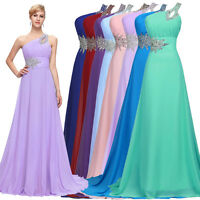 CHEAP! Long Chiffon Evening Gowns Cocktail Party Wedding Bridesmaid Prom Dresses