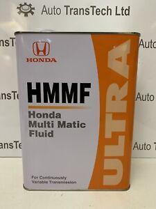 genuine honda insight 1.3 cvt automatic gearbox oil ultra multi matic fluid 4L