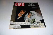 AUGUST 19,1966 LIFE Magazine-COCA-COLA-LUCI JOHNSONS WEDDING