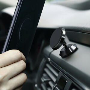 Aluminium 360° Magnetic Car Dash Mount Holder For Universal Cell Phone iPhone