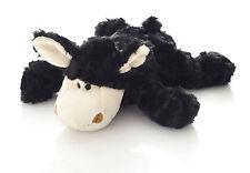 Hansen Ovis Plüsch Schaf schwarz liegend 28 cm Plüschtier Kuscheltier Stofftier