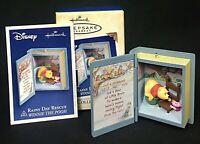 Hallmark Disney Keepsake Ornament Rainy Day Rescue Winnie The Pooh 2005 NEW