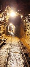 Türtapete Stollen TT267 Größe: 90x200 cm Tapete Untertage Kohle Bergbau