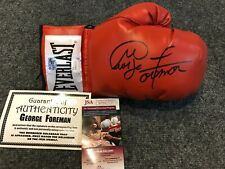 GEORGE FOREMAN AUTOGRAPHED SIGNED BOXING GLOVE JSA COA