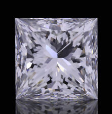 3.6mm SI CLARITY PRINCESS-FACET NATURAL AFRICAN DIAMOND (G-I COLOUR)