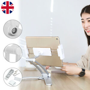 Multifunction Kitchen Fold Wall iPad Mount Tablet Stand 360° adjustable Holder