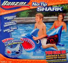 "44"" BANZAI NO TIP CHAMBER SHARK POOL FLOAT SWIMMING POOL  NEW"