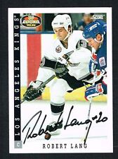 Robert Lang #456 signed autograph auto 1993-94 Score Hockey Trading Card