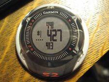 Garmin S2 Gray Black Wrist Watch Face Logo Advertisement Lapel Hat Button Pin