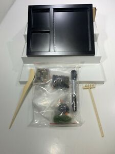 Mini Activzen Garden,Tabletop Zen Garden Kit, Patio Zen Garden, Zen,Quartz
