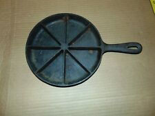 Vintage Cast Iron Corn Bread Pan Skillet Made In USA