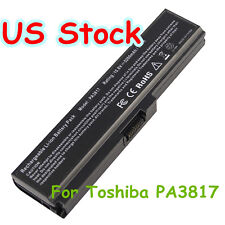 Battery for PA3817U-1BRS Toshiba Satellite A660 A665 A665D C640 C650 C650D 6CeLL