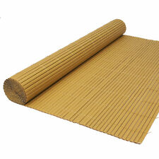 Artificial Bamboo Cane Garden Screening Fencing Screen Fence Panel Roll 1m x 4m