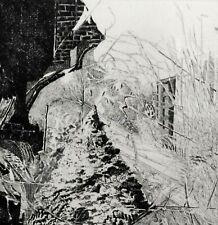 """Udo SCHEEL (*1940) TOP-Radierung 1972: """" HERBST """""""