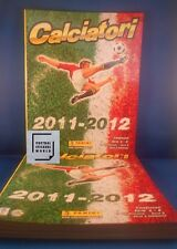 Panini Calciatori 2011/2012 10 empty/new albums