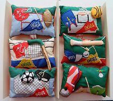 Dillard's Trimmings Tree Ornaments Sports Memorabilia Embroidered Pillows Six