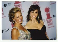Gina Gershon & Edie Falco - Vintage Candid Photograph by Peter Warrack