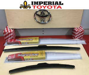 2009-2015 TOYOTA VENZA GENUINE OEM OE STYLE SIGHTLINE WIPER BLADE KIT