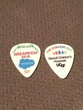 Metallica - DREAMFEST SF,CA 2018 * SALESFORCE 100% Authentic RARE Guitar pick