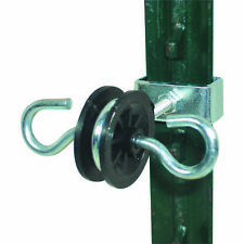 Field Guardian 2 Ring Gate Ends T Posts  electric fence  102135  814421010698