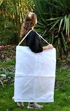 Housse de tranport respirante blanche pour robe de mariée